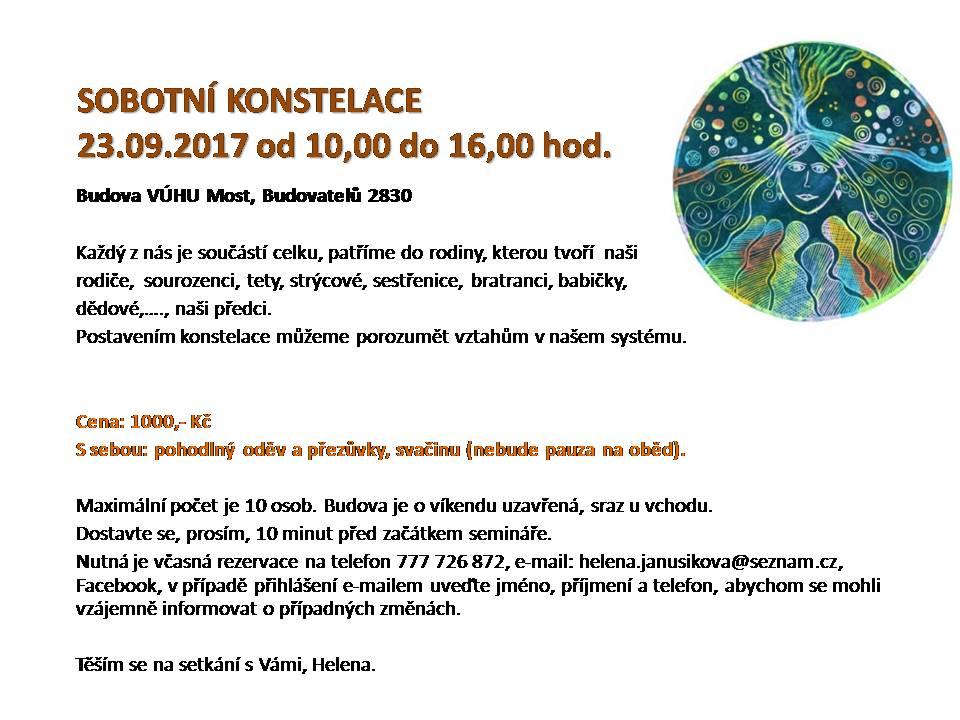 SOBOTNÍ KONSTELACE 230917